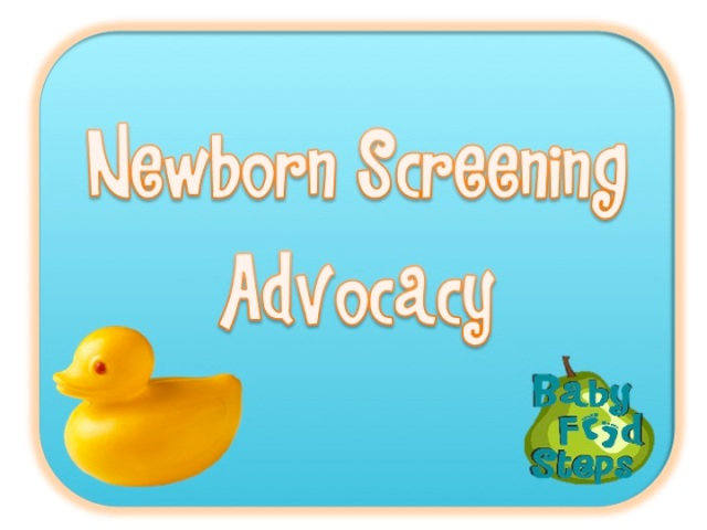 newborn screening advocacy