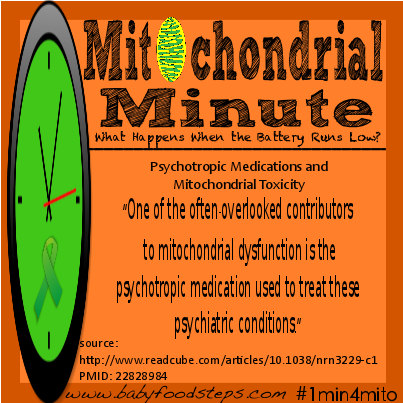 Psychotropic Medications and  Mitochondrial Toxicity